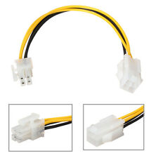 20CM/8Inch 12V 4 Pin Male to 4 Pin P4 Female CPU Power Supply Extension Cable