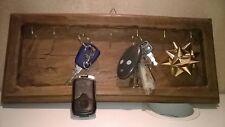 Appendi chiavi  da parete in legno di rovere fatto a mano