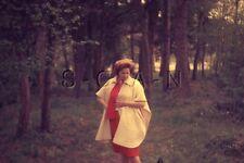 Vintage 1960s Negative / 35mm Slide- Women's Fashion- Coat- Skirt- Looking Down