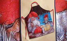 Küchenschürze Grillschürze Rolf Lidberg Trolle Weihnachten