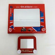RARE Disney Pixar CARS London - Lightning McQueen TowMater Etch-A Sketch