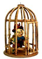 Vintage Disney Pinocchio Jiminy Cricket Limited Edition Handmade Wood Marionette