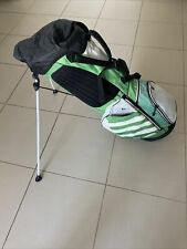 Adidas University Golf Stand Bag Green/White