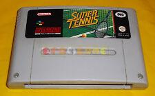 SUPER TENNIS Super Nintendo SNES Versione PAL Italiana ○○○○○ SOLO CARTUCCIA