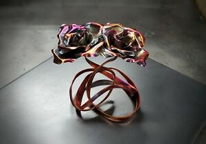 """Copper Rose """"Tie the Knot"""" #1646R Steampunk Anniversary Valentine's Mother's Day"""