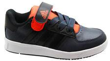 Chaussures noirs adidas en cuir pour fille de 2 à 16 ans