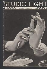 Studio Light Magazine Photography Eastman Kodak February 1939 Woman's Gloves