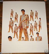 Elvis PRESLEY 50 milioni di fan Ltd Edition stampa firmata & numerati da Bob Jones