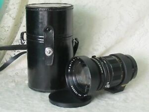 Mamiya-Sekor 250mm f5 with original case & Hood 123233