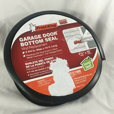 "Frost King-Garage Door Bottom Seal-Vinyl Replacement 2-3/4"" Wide x 10' Long-New"