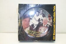 Pirates Bill Mazeroski Collectible Plate Hall of Fame Inductee 2001