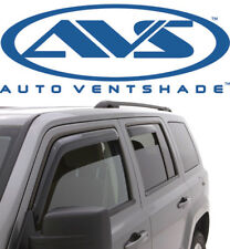 AVS 194330 In-Channel Window Deflector Ventvisor 4-Piece 2007-2010 Jeep Compass
