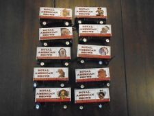 10 Piece HO Scale Vintage Royal American Shows Wild West- funny story