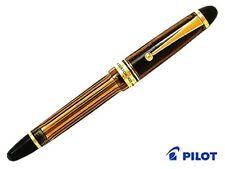 Pilot fountain pen custom 823 FKK3MRPBNF fine black brown axis from japan