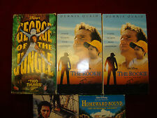 VHS - Lot of 5 Disney VHS Films (Slip Covers)