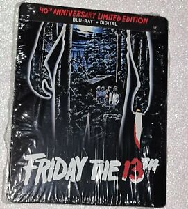 Friday The 13th:40TH Anniversary Limited ed.Steelbook(Blu Ray ,2020)LIKE NEW Ra