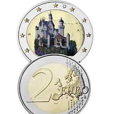 Alemania 2 euro 2012 bavaria Neuschwanstein color encapsulado UNC./9750524# #