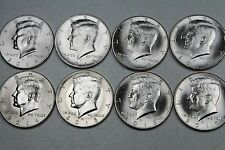 2014 2015 2016 2017 P & D Kennedy Half Dollar Uncirculated  Set from Mint Rolls