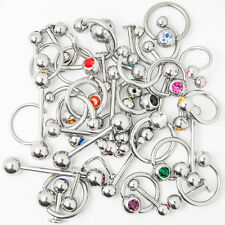 Wholesale Body Jewelry - 40 Mixed 316L Steel - Lip, Ear, Nipple, Tongue