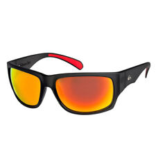 Quiksilver NEW Men's Landscape Sunglasses - Matte Grey / Ml Red BNWT