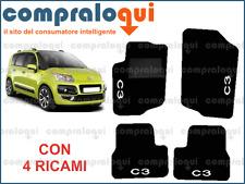 CITROEN C3 Picasso /'09/> SET COMPLETO 4pz TAPPETI SPECIFICI IN MOQUETTE