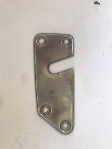 Fiat Dino Door Lock Escutcheon