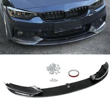 For 2014-2020 BMW F32 F33 F36 4 Series M Sport Front Lip Spoiler Carbon Fiber DN