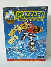 Original Vintage 1985 Tonka Go Bots Puzzler Renegade Robot Giant With Box
