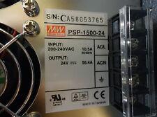 PSP1500-24 Meanwell 1500 Watt PFC AC/DC BRAND NEW!