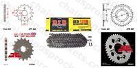 Honda CD175 A,A4,K5 71-78 DID Chain Sprocket Kit 17/39t 428/112