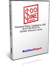 Soo Line DSS&A Standard Plans Diagrams - PDF on CD - RailfanDepot