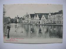 Bruges, Belgium -- Quai de la Potterie.
