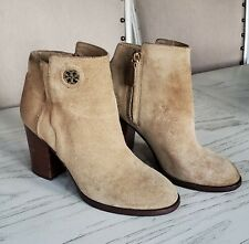 TORY BURCH Junction Suede Ankle Booties Shoes Size 8, $425