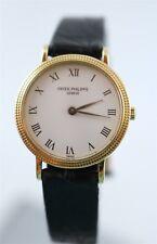 Ladies Patek Philippe Calatrava Quartz Ref. 4819 18K Yellow Gold Wrist Watch