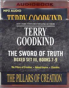 Terry Goodkind Sword of Truth Series: Books 07-09 Unabridged MP3 Audio Books
