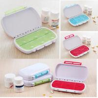 6 Tage Tablet-Pille-Kasten-Halter-Medizin-Speicher-Organisator-Behälter sam G3D