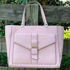 Kate Spade Pink Bow Large Leather Bag Purse Tote