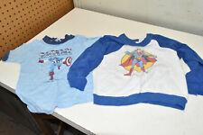 CAPTAIN AMERICA T-SHIRT Kids SIZE 4-5 RARE Marvel 1975 & Superman Sweatshirt