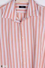 Camisas y polos de hombre naranja HUGO BOSS 100% algodón