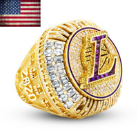 2020 OFFICIAL Los Angeles Lakers Championship Ring NBA Champions Size 6-15 New