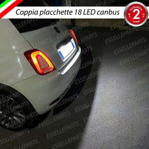 PLACCHETTE PLAFONIERE COMPLETE LUCI TARGA LED FIAT 500 500 C 500C ABARTH CANBUS