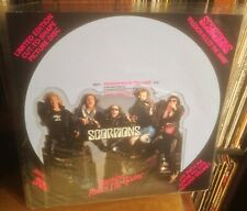 """SCORPIONS passion rules the game 1988 BREEZE 7"""" SHAPED PICTURE DISC."""
