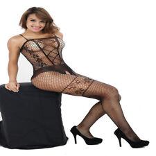 Sexy Lace Lingerie Nightwear Underwear Women Fishnet Babydoll Sleepwear Dress