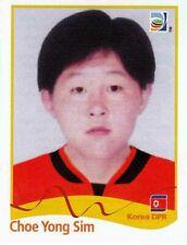 Panini WM 2011 201 Choe Yong Sim Korea DPR World Cup 11 Women Frauen
