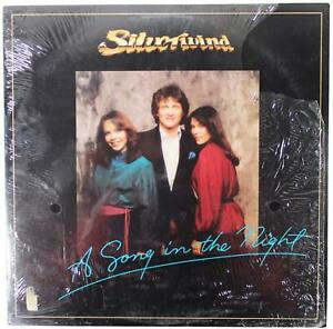 SILVERWIND Song In The Night LP 1982 Shrink Sparrow 80s Christian Pop Rock Disco
