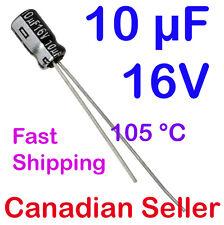 2pcs 10uF 16V 4x7 mm 105 °C Panasonic GA For TV LCD LED Audio Stereo Amplifier