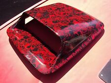 Large/big Mouth Toyota Hilux bonnet scoop, hydro dipped. Turbo With Bolts Comp