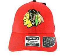 Chicago Blackhawks NHL Red  Baseball Cap Stretch Fit L/XL