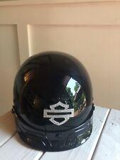 Harley Davidson Women's Bling LogoSkyline Half Helmet