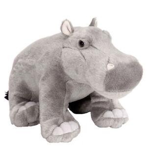 "Hippo Hippopotamus 12""/30cm soft plush stuffed toy Cuddlekins WILD REPUBLIC NEW"